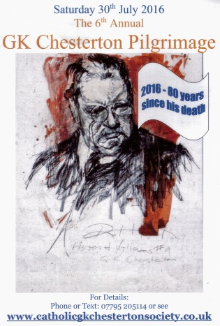 K Chesterton ... : News / Comments / 6th Annual G.K. Chesterton Pilgrimage in London